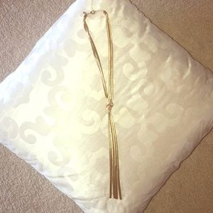 Woman's gold  INC necklace from